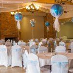Décorer une salle de mariage avec une tenture