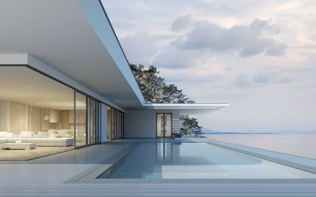 architecte pour villas de luxe