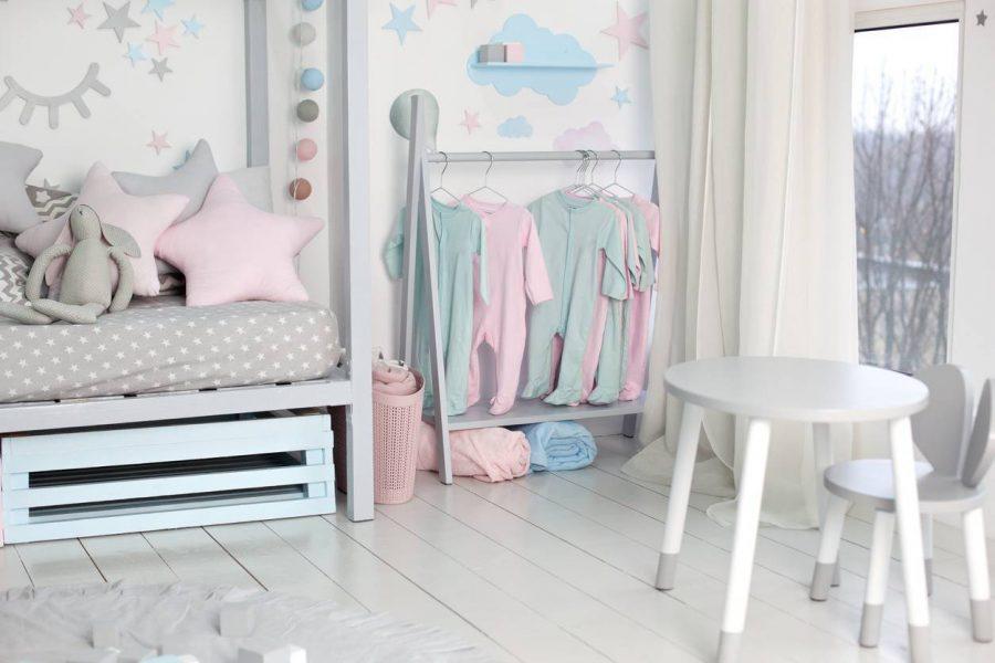 stickers chambre de bébé