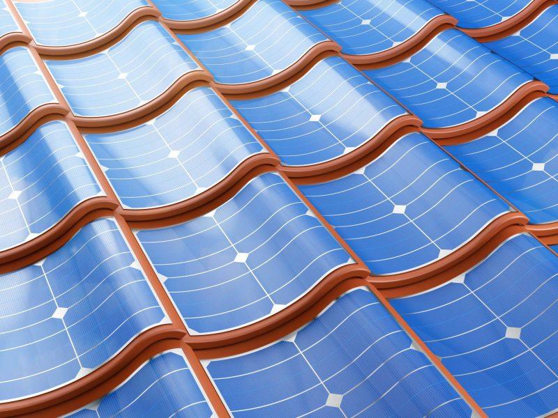 tuiles photovoltaïques couverture toit