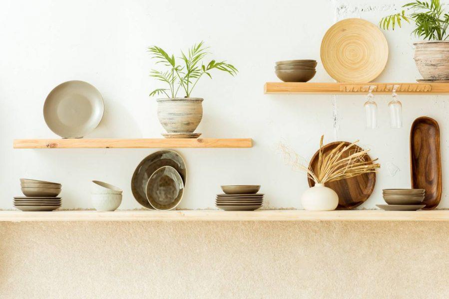 vaisselle cuisine matière naturelle