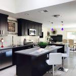 Les meilleures cuisines noires et en bois