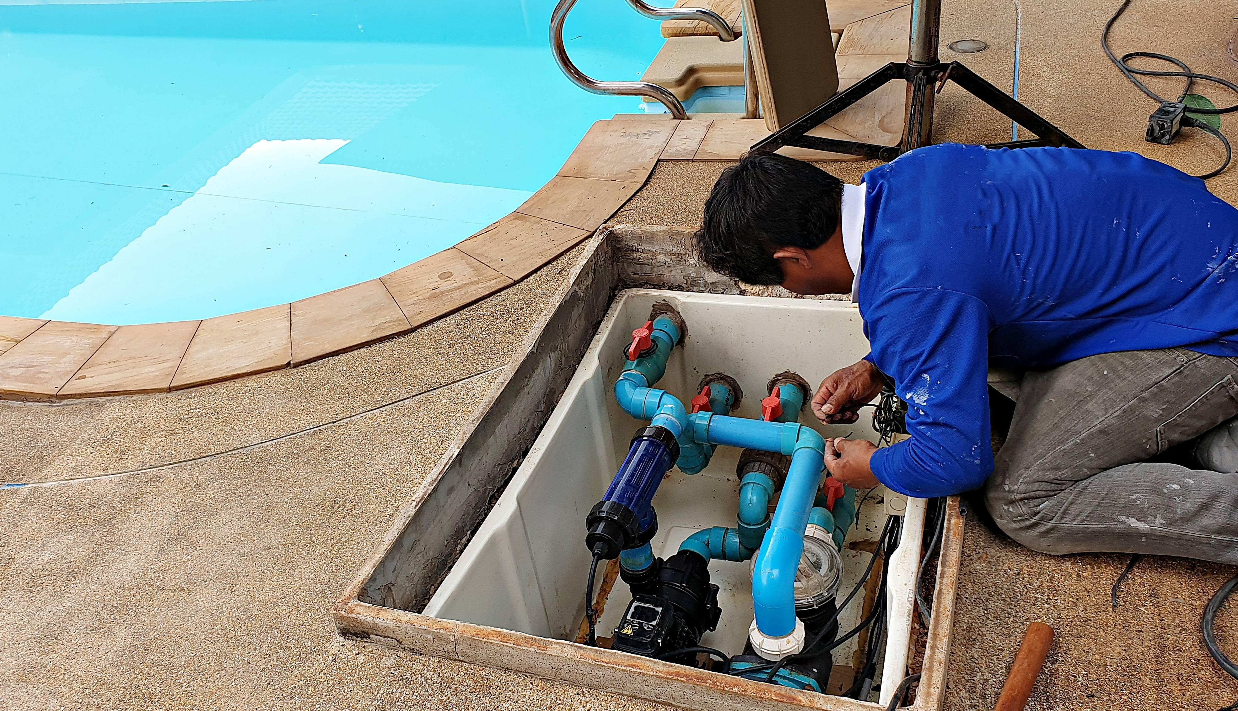 entretien piscine changement saison